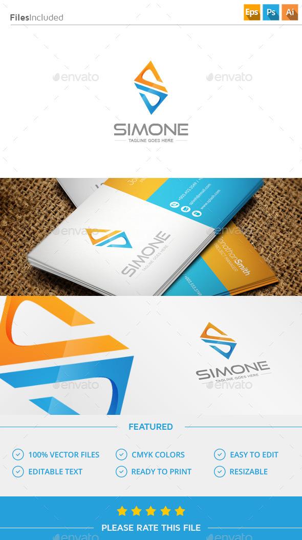 GraphicRiver Letter S Logo 11815367