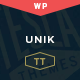 Unik – Creative Multipurpose WordPress Theme - ThemeForest Item for Sale