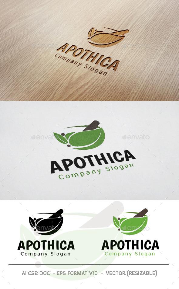 GraphicRiver Apothica Logo 11828133