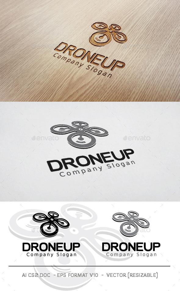 GraphicRiver Droneup Logo 11828201