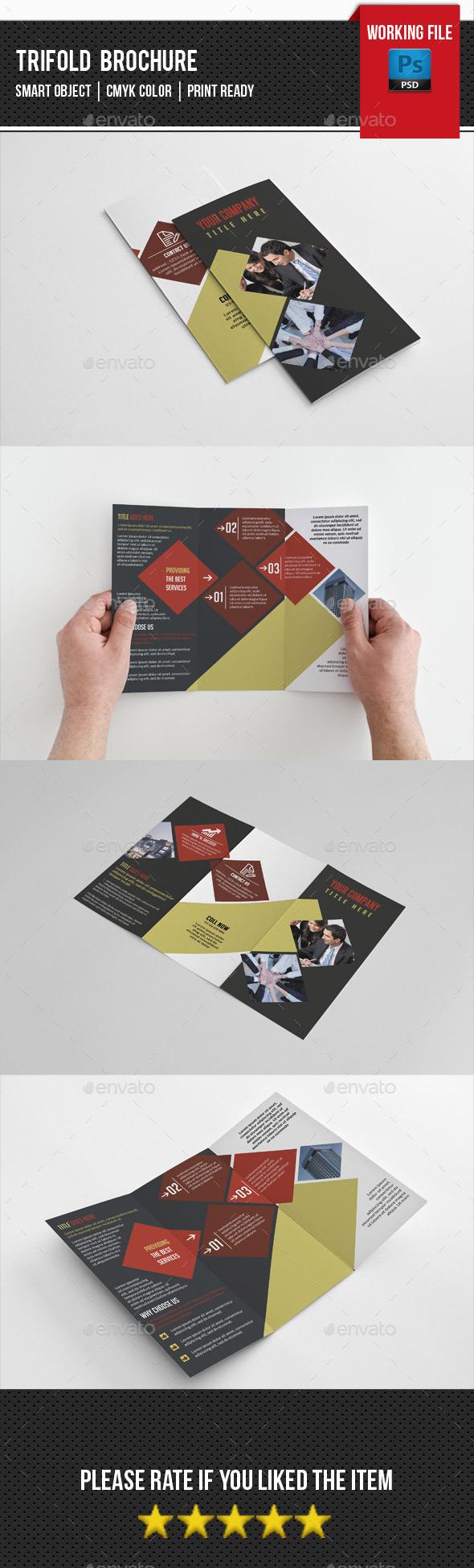 GraphicRiver Corporate Trifold Brochure-V235 11828291