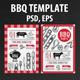 Bbq Party Invitation - GraphicRiver Item for Sale