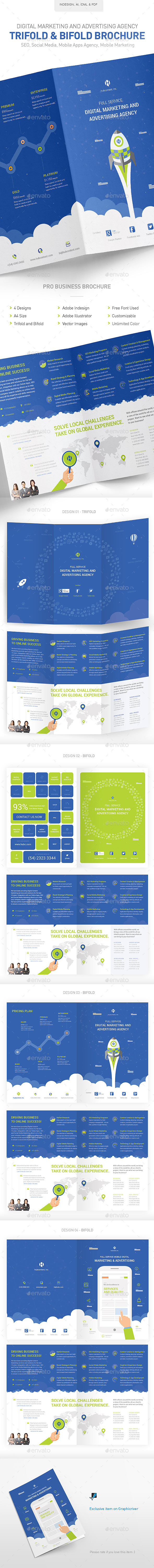 GraphicRiver Digital Marketing & Advertising Agency Brochure 11828361