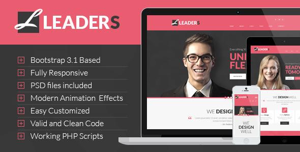 Leaders - Multipurpose HTML Template
