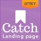 Catch Landing - Responsive Landing Page