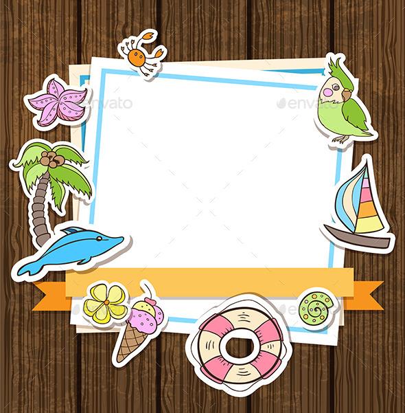 GraphicRiver Summer Background 11829009