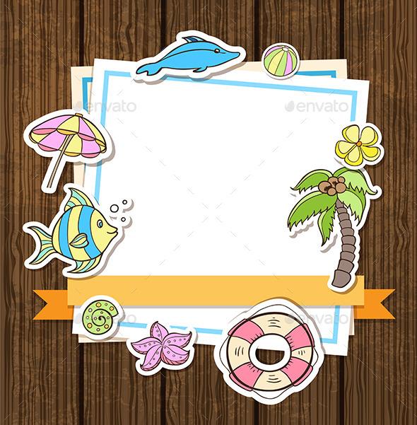 GraphicRiver Summer Decorative Background 11829106