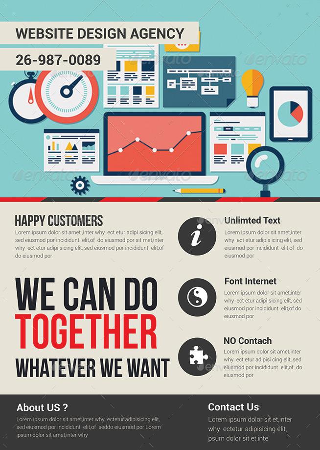 web design flyer - anuvrat.info