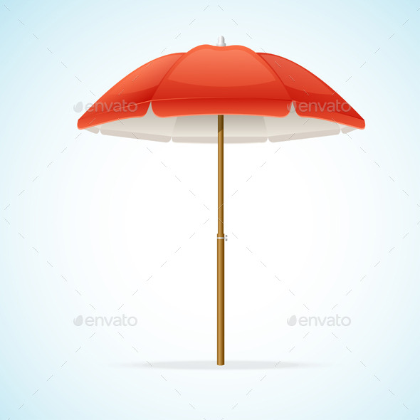GraphicRiver Beach Umbrella 11829369