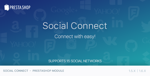 CodeCanyon Social Connect PrestaShop Module 11829477