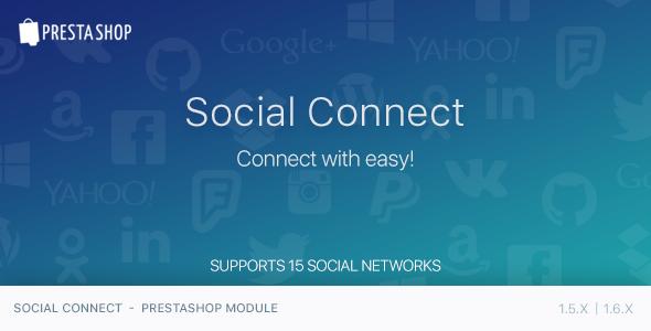 CodeCanyon Social Connect PrestaShop Module 11829477