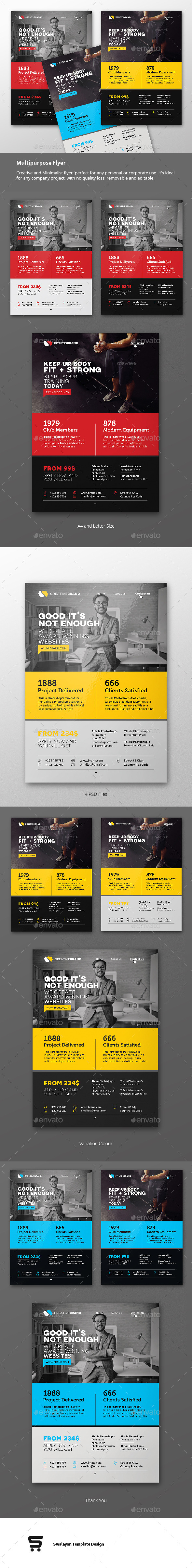 GraphicRiver Multipurpose Business Flyer 11829480
