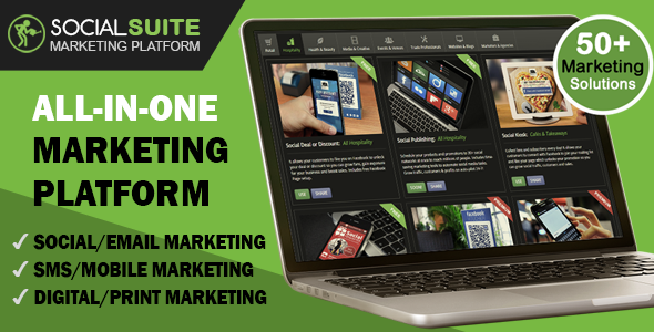 CodeCanyon SOCIAL SUITE Ultimate Marketing Platform 11830199