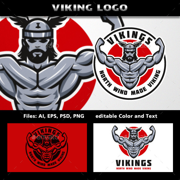 GraphicRiver Vikings Logo 11789844
