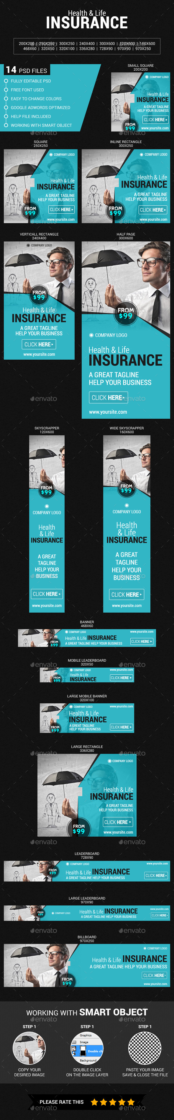 GraphicRiver Health & Life Insurance 11830398