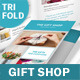 Gift Shop Trifold Brochure - GraphicRiver Item for Sale
