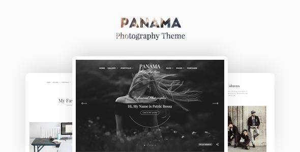 Panama – Photography Portfolio Theme (Photography) Download