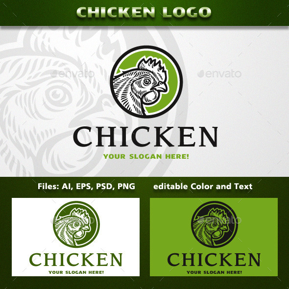 GraphicRiver Chicken Logo 11817593