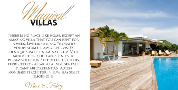 Luxury Parallax