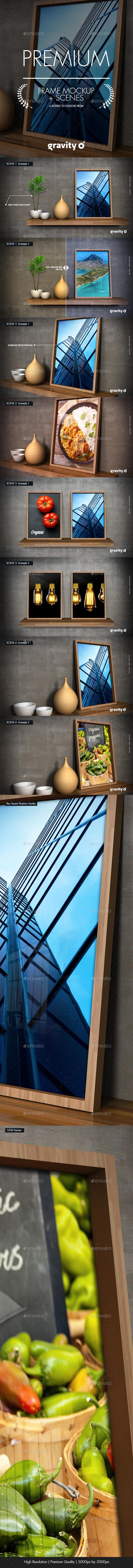 GraphicRiver Picture Frame Mockup & Scenes 11832647