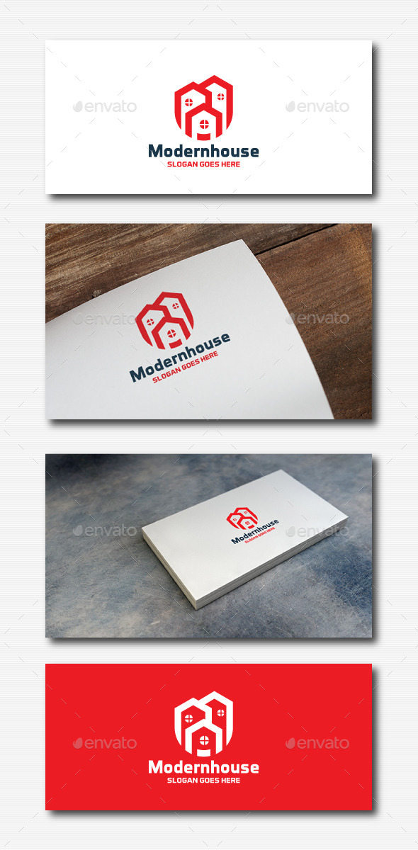 GraphicRiver Modern House Logo 11833090