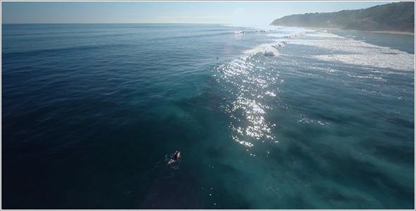 VideoHive Ocean Beach Aerial 60 11833309
