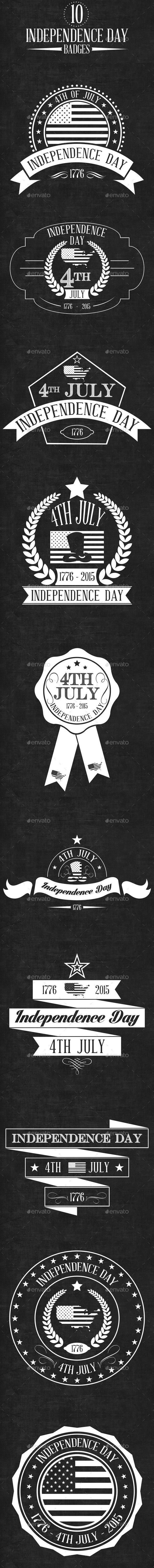GraphicRiver Independence Day Badge 11833333