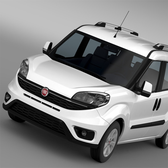 Fiat Doblo Maxi (152) 2015 - 3DOcean Item for Sale