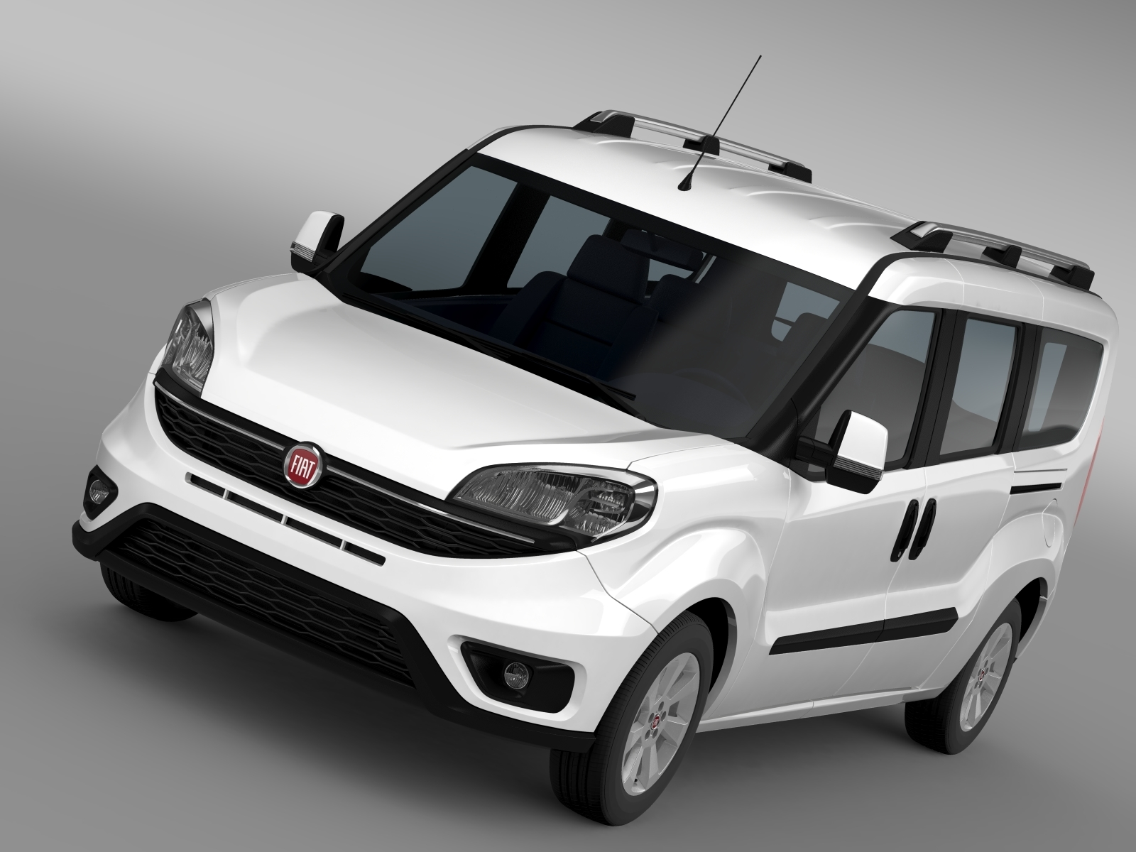 fiat doblo maxi 152 2015 by creator 3d 3docean. Black Bedroom Furniture Sets. Home Design Ideas