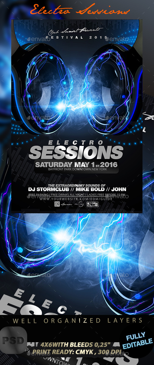 GraphicRiver Electro Sessions 11833581