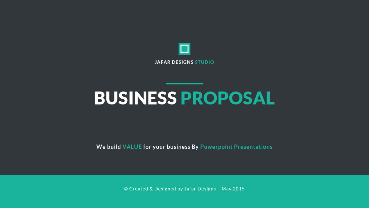 ppt proposal template - gse.bookbinder.co, Presentation templates