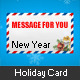 Holiday Card in Letter - ActiveDen Item for Sale