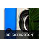 2D 3D ACCORDION Horizontal Vertical Video Image - ActiveDen Item for Sale