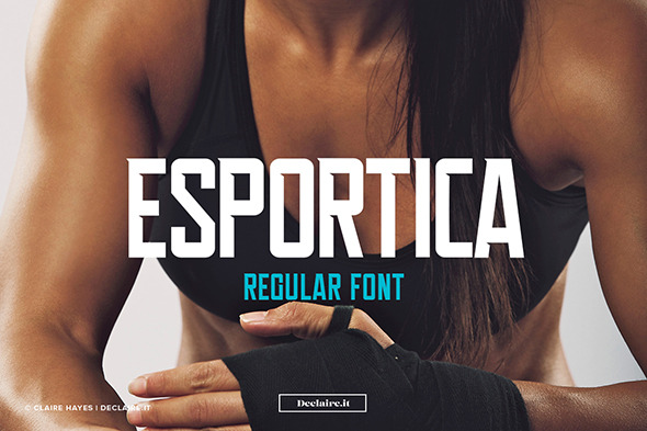 GraphicRiver Esportica Regular 11834061