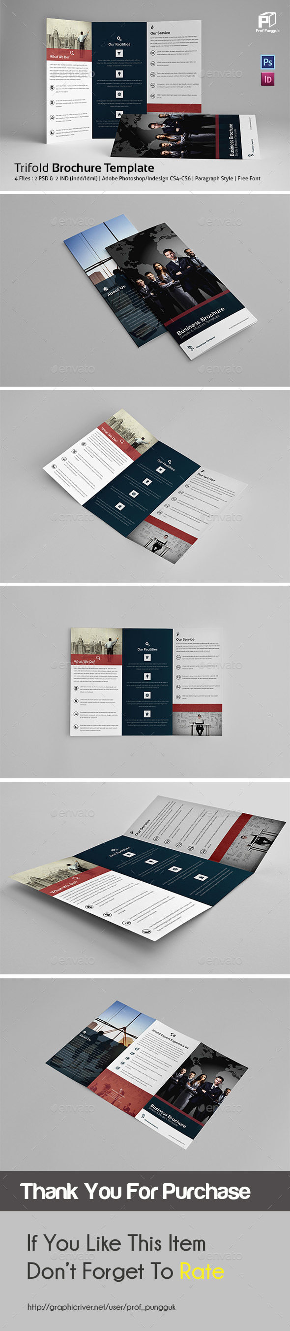 GraphicRiver Business Trifold Vol.4 11834210