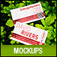 Natural Realistic Business Card Mockup V2 - GraphicRiver Item for Sale
