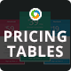Multi Purpose Pricing Tables - 12 Variations
