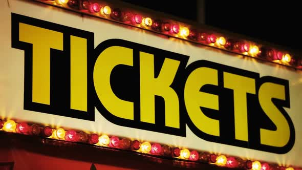 VideoHive Carnival Ticket Booth At Night 11834530