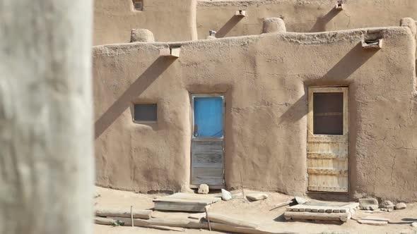 Three Doors Taos Pueblo