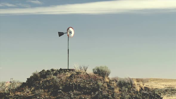 VideoHive Windmill On Windy Day 11834921