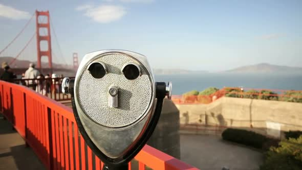 VideoHive Golden Gate Bridge And View Finder 11835145