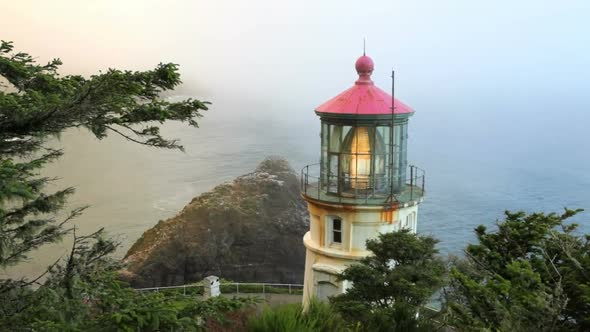 VideoHive Heceta Head Lighthouse 5 11835914