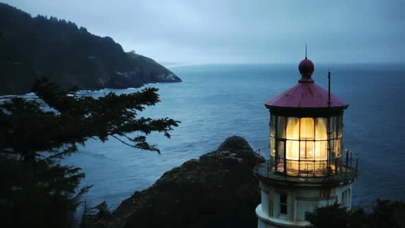 VideoHive Heceta Head Lighthouse 8 11835980