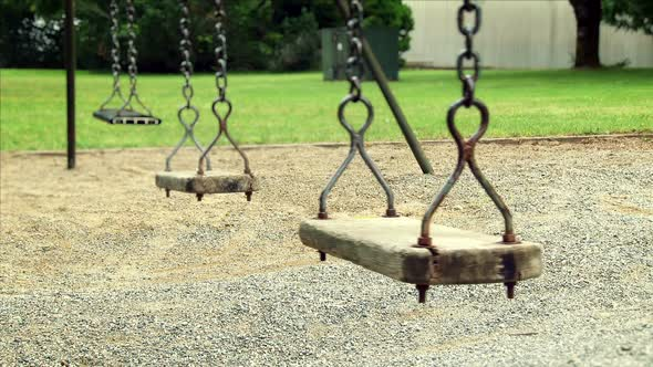 Empty Old Swing