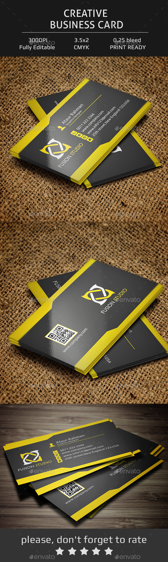 GraphicRiver Creative Business Card V3 11838680