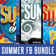 Summer Facebook Bundle - GraphicRiver Item for Sale