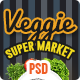 Veggie Super Market | Multipurpose PSD Template - ThemeForest Item for Sale
