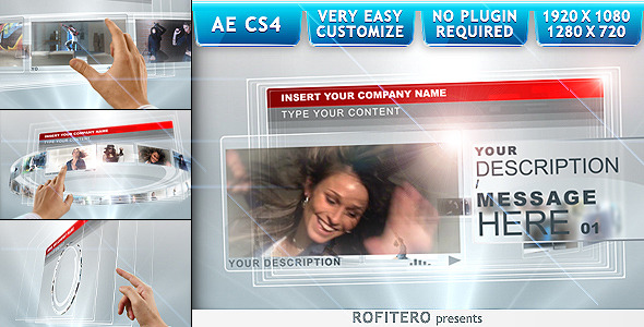 After Effects Project - VideoHive Touch Screens 1178258