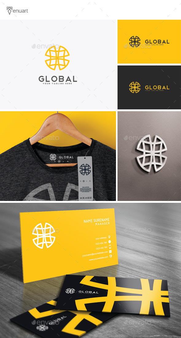 GraphicRiver Global Logo 11839825