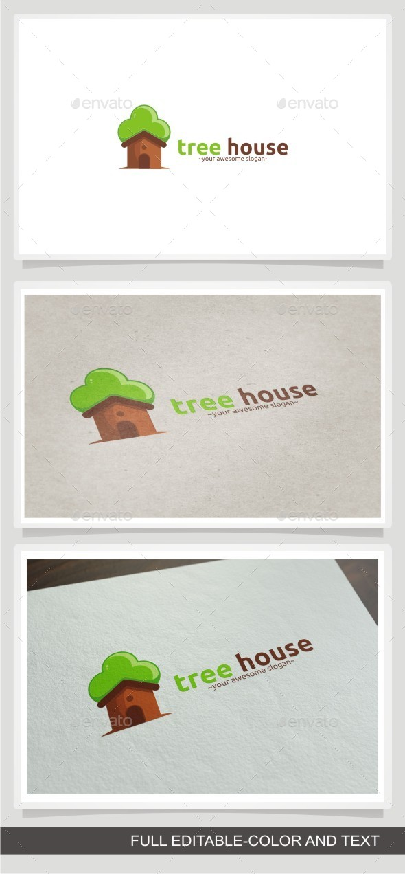 GraphicRiver Tree House 11840180